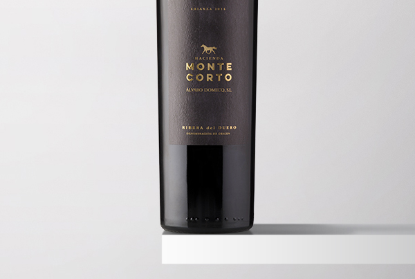 Packaging vinos Montefusta y Montecorto